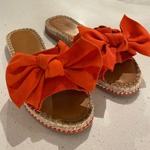 Espadrille Knotted Bow Sandals - Universal Thread